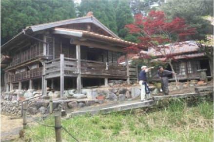 矢岳駅近隣宿泊施設 リノベーション予定地